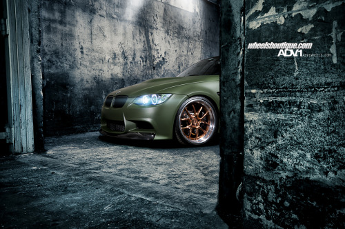 williamstern:   BMW M3 Ninja Turtle Hideout.