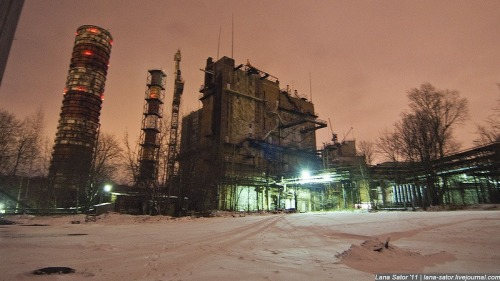 Awesome Russian missile factory. More after jump.