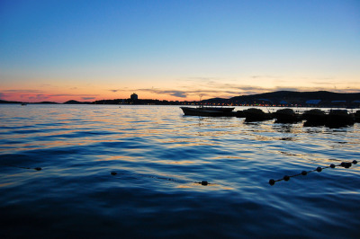 Vodice sunset by marin.tomic on Flickr.
