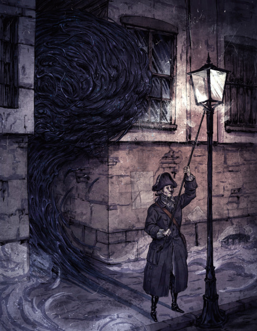 bookspaperscissors:  Lamplighter, korintic