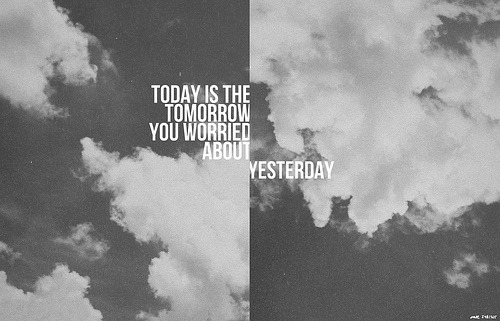 thingstocallpretty:  Today Tomorrow Yesterday 248/365 (by carE.)