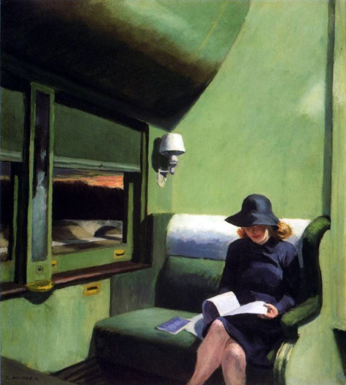 Edward Hopper, Compartment C, Car 293 (1938)