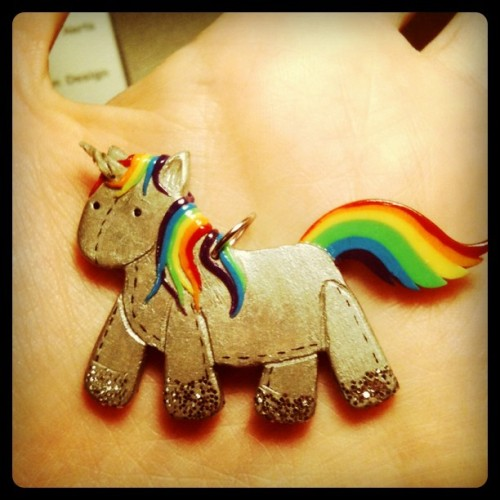 Boom, Unicorn!  So, there's a present from my friend @WhoaNeverGiveUp You can also check out her works here :http://www.facebook.com/pages/Aleksandra-V-Artworks/289336044442514  (LIKE ) or here : http://alexskyline.deviantart.com/