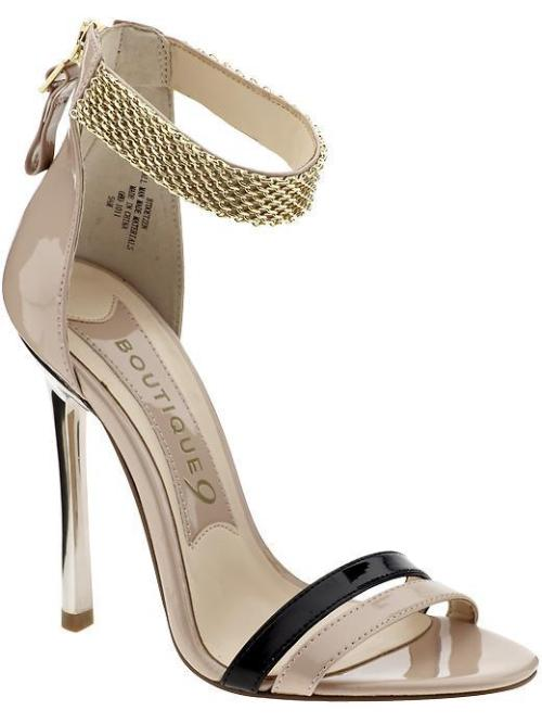 Fairly plain… perhaps. But I love the ankle strap. What a wow detail!