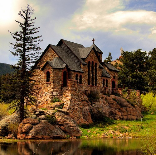 gorgeous unknown church *** CHAPEL ON THE ROCK, ALLENSPARK, COLORADO! ***