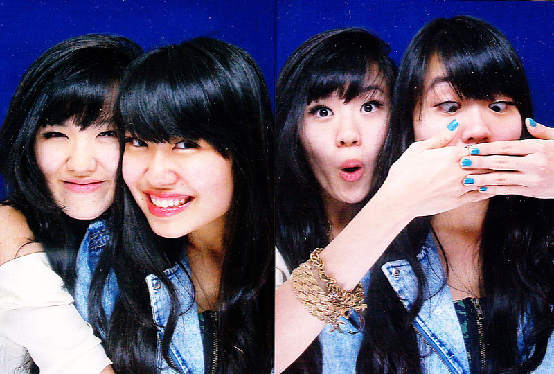 Rachel & Nicole - Some Photobooth, Jakarta  feat. our dusty scanner // facial gymnastics Just wanted to wish everyone a Happy New Year! We can't wait to get the 2012 party started!! With that being said-SINGAPORE; ARE YOU READY?We are coming back.Count down: 2 days (to get annoyingly excessive updates on-the-go, or watch our lives thru INSTAGRAMfollow us on twitter//facebook pssst..WE ARE OBSESSED WITH INSTAGRAAAAAAAAAMMM)