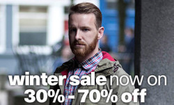Our Winter Sale is in full effect. Up to 70% off items.