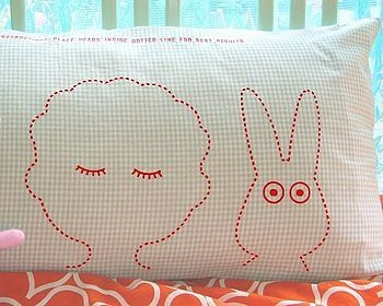 i emailed about this twisted twee pillowcase a while ago. it's now in the sale along with the bear one. i love both. you can thank me by buying me one or two…
