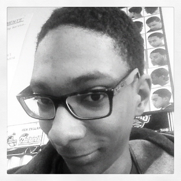 Before - #carpet #fro #nappy #hair #hat #black #SuperFly #barbershop #West #Dayton #Ohio (Taken with instagram)