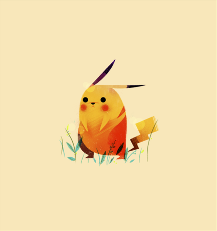 ollymoss:  Got bored and doodled a Pikachu.