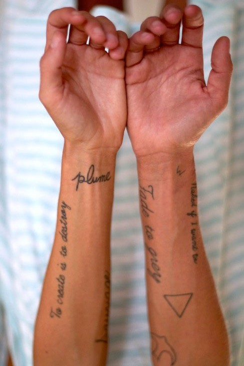 Tattoos of Margaux Lonnberg <3