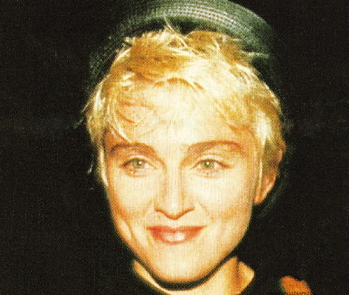Madonna arriving at Le Dome restaurant in Los Angeles 1986