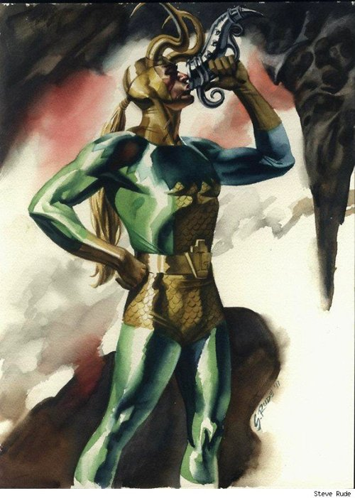Loki by Steve Rude