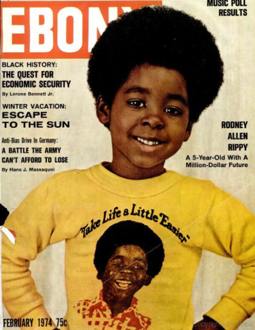 The Jack In the Box phenom. Rodney Allen Rippy, February 1974.