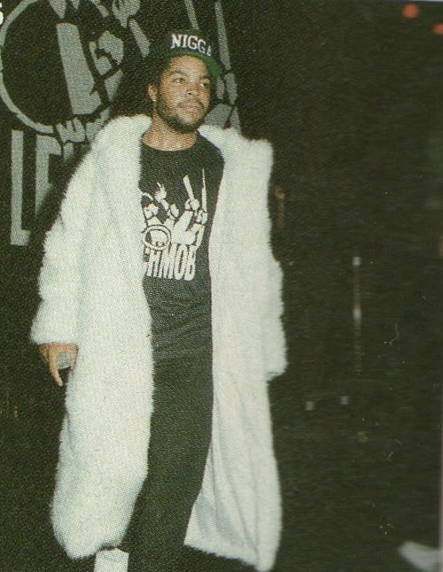 Photograph (1991) Ice Cube // Apollo Theater Who's the mack? Photo Source: IceCube.com