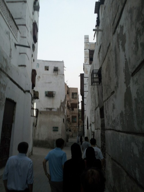 Jeddah. Old City. Headed to the souq. This area is over one thousand years old in some places.