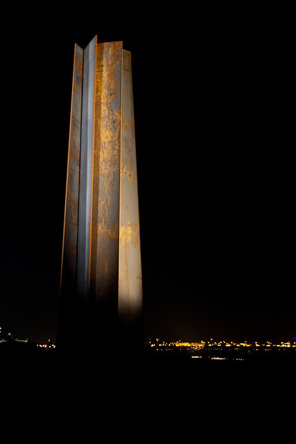Richard Serra's 7 on Flickr. The American minimalist sculptor's work is on display at the Museum of Islamic Art Park in Doha, Qatar.