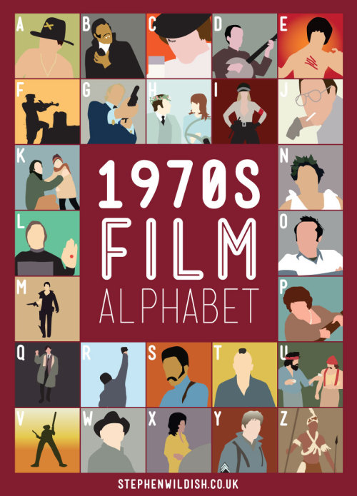70s Film Alphabet, right that's it. I am done!