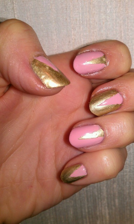 My attempt at Jenny Longworths nails for Rhianna - love this design!