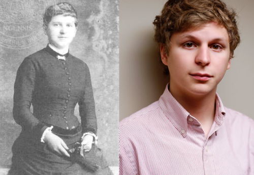 thunderpcats:  Hitler's mom looks a lot like Michael Cera.