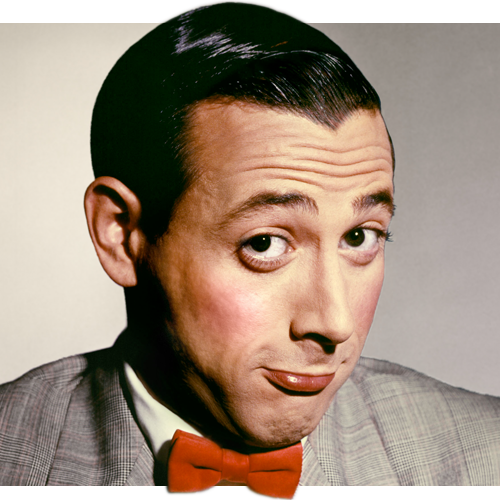 This is Pee Wee Herman. I am not Pee Wee Herman. I was going to have David Icke or maybe Rich Fulcher as my avatar….But then I decided to have a fictional character portrayed by a registered sex offender…..Although I can't confirm Rich Fulcher or David Icke aren't sex offenders or fictional characters.  (After I posted this I realised this wasn't the avatar…That movie was shit anyways). Also do you put full stop before or after a bracket? I put the full stop after, but it looks slightly awkward there.