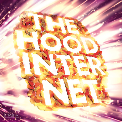 here's the official album taco for hood internet's s/t compilation collaboration by clayton hauck, chuck anderson/nopattern, and us