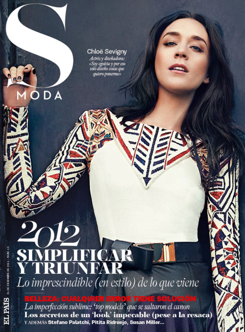 blackstuddedfashion:  Chloe Sevigny covers S Moda