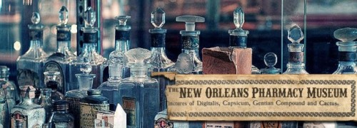 New Orlean's Pharmacy Meseum. This place looks fascinating.