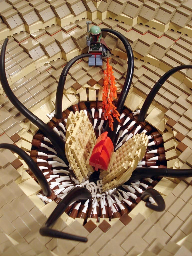 The Monster of Sarlacc's Pit of LEGO Awesomeness!