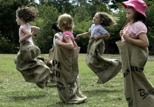 Future Family Sack races
