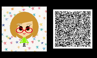 "Freakyforms QR code for Swapnote's Nikki. The 3DS's messaging app mascot is everywhere nowadays — she's in Mii Plazas, user photos (OMGGG), foot fetish fanart, and now Freakyforms! What next? A Pushmo puzzle? A cameo in Super Smash Bros. 3DS?? A guest verse on the remix for Birdman/Nicki Minaj/Lil' Wayne's ""Y.U. MAD""?!? Buy: Nintendo 3DS console (Flame Red, Black, & Blue) Find: Nintendo DS/3DS release dates, discounts, & more See also: More Swapnote news [Via Takuya, Superjezmerelda]"