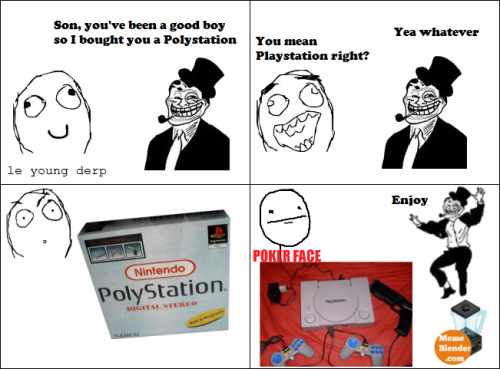 trolldadcomic:  Troll Dad - Playstation Submitted by Pete