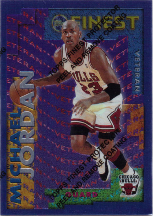 95/96 Finest Michael Jordan Veteran/Rookie Insert 1:24 Packs $30.00