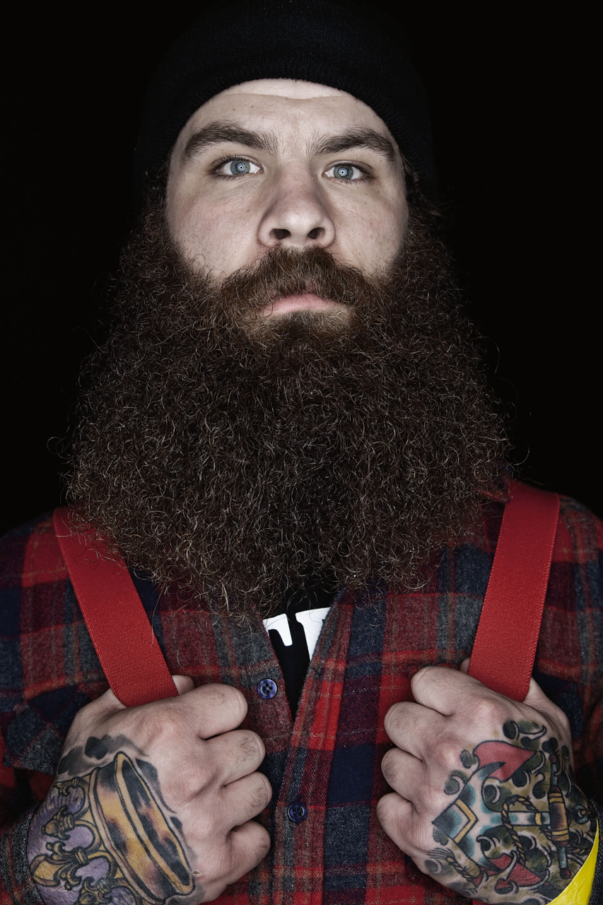 chubstr:  Meet Dave Jensen, a competitor in the 2009 Beard and Mustache Championships in Anchorage, Alaska - also one of the subjects of Matthew Rainwaters' book, Beard, which chronicles the event.  See more photos like this and read our review at Chubstr.