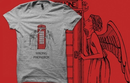 The angels have the…wrong phonebox.