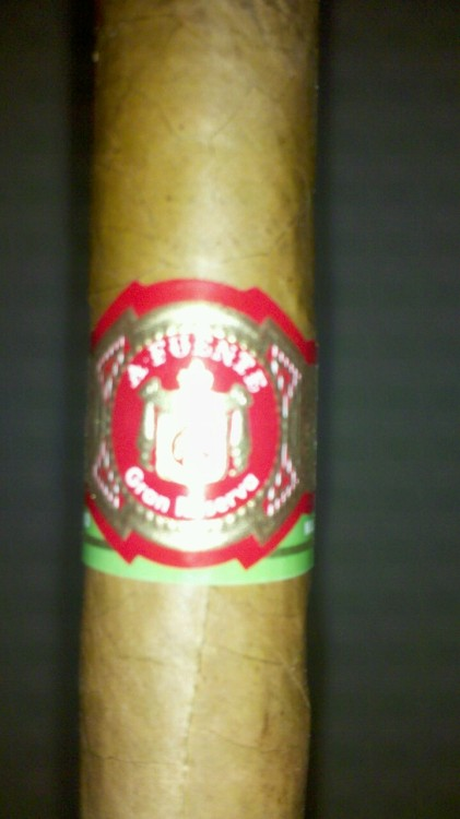 I'm about to test drive this Arturo Fuente Gran Reserva.
