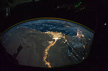 Magical Nile River! (viewed from space)