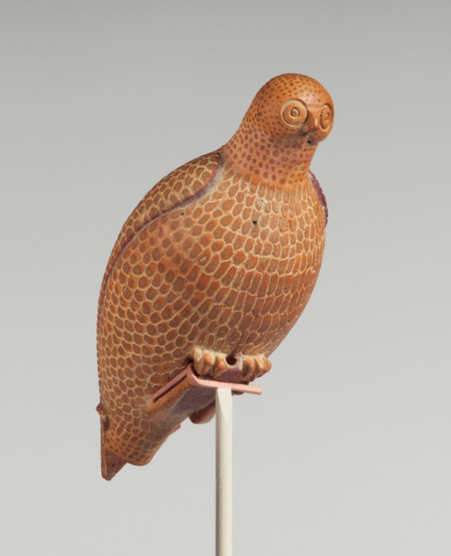 Terracotta Vase in the shape of a Bird Corinthian, 650 bce