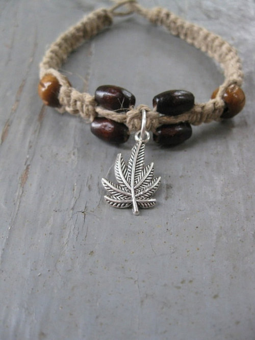 fuckyeahpsychedelics:  Reefer Hemp Bracelet For sale here