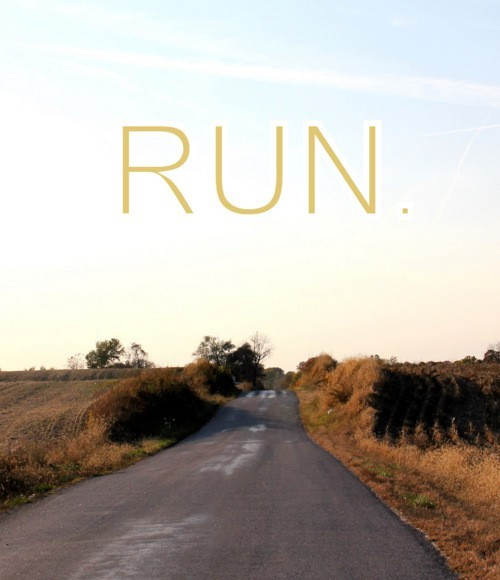 run in the open with an amazing playlist. tune out everything, and nothing can stop you.