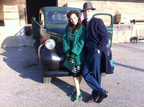 fyeahbombgirls:  On the Set.  I have such a soft spot for Sebastian Pigott. Even if his character on Bomb Girls is the anti-Kai. IDEC. (Also I love it when fandoms collide. Which…happens a lot when all your fandoms are Canadian TV shows…)
