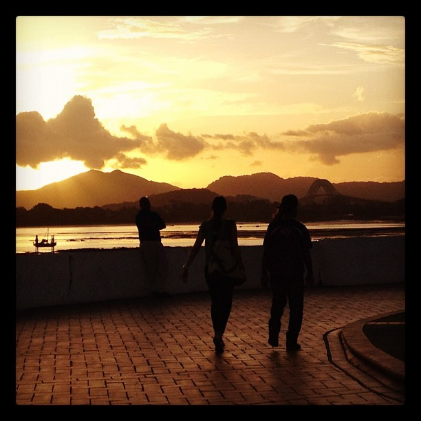 Sunsets in Panama #priceless #panama12 (Taken with instagram)
