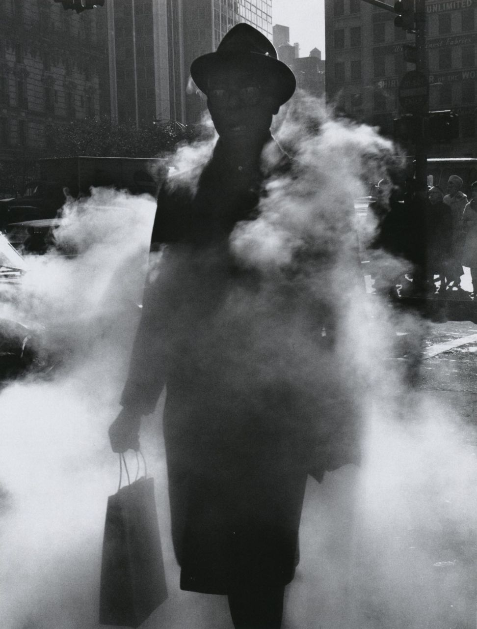 Arthur Tress Man in Steam New York, 1968 From Arthur Tress: Fantastic Voyage, Photographs 1956-2000