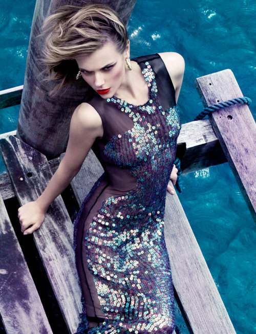 Elle Brazil, January 2012  photographer: Manuel Nogueira  Martha Streck Martha Streck by Manuel Nogueira for Elle Brazil January 2012