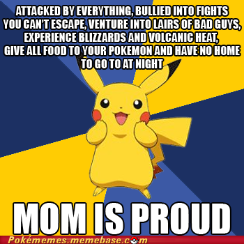 Pokememes - Ash's Mums motives…..