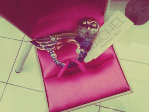 Rachel Roy bird ring [seen at The Bay, Toronto].
