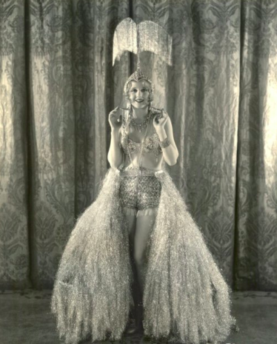 Showgirl in a gorgeous costume c.1929