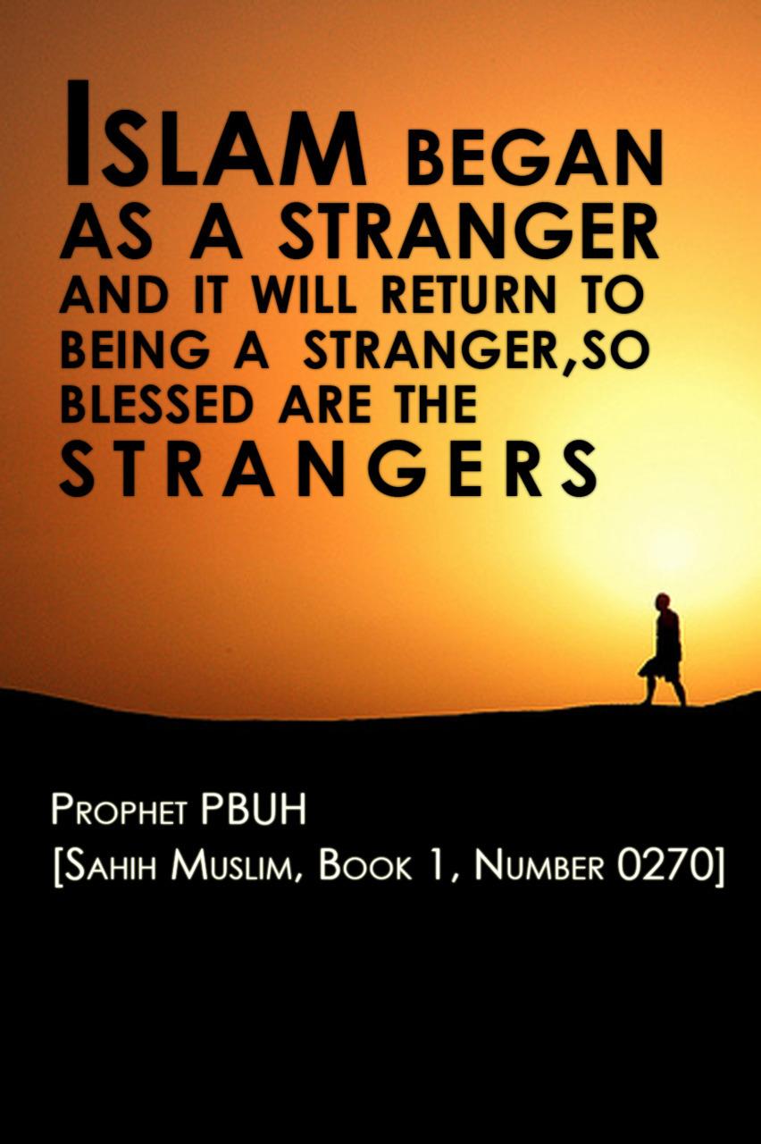 stranger islamic quotes