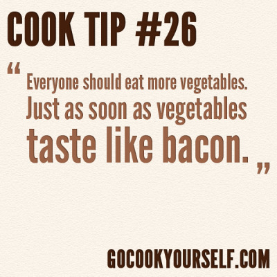 gocookyourself:  Cook Tip #26 Got a tip? Leave it here - or on Facebook - if we use it, you'll get credit!