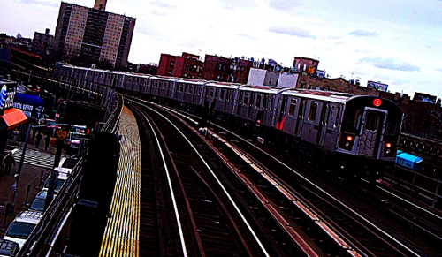 6 train in the Bronx… Everywhere else I've lived had such crappy and infrequent train service. Fast and frequent does the trick :)